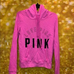 Pink hoodie size s